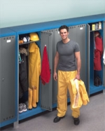 Шкафы металлические для одежды (для раздевалок, для спецодежды, гардеробные)