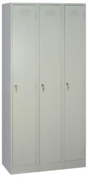 Шкаф металлический для одежды ШРМ - 33 купить на выгодных условиях в Волгограде