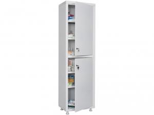 Металлический шкаф медицинский HILFE MD 1 1657/SS купить на выгодных условиях в Волгограде
