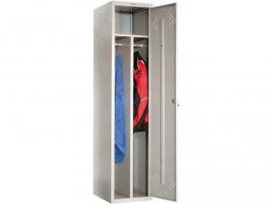 Шкаф металлический для одежды ПРАКТИК LS(LE)-11-40D купить на выгодных условиях в Волгограде