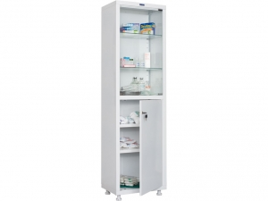 Металлический шкаф медицинский HILFE MD 1 1650/SG купить на выгодных условиях в Волгограде