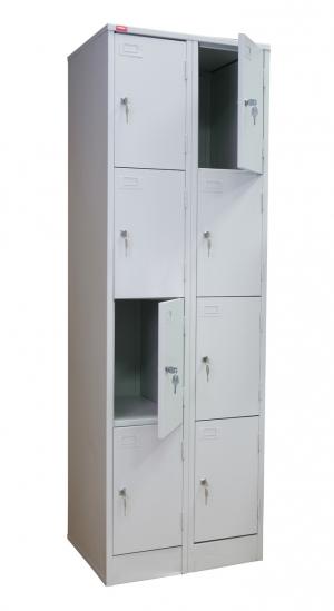 Шкаф металлический для сумок ШРМ - 28 купить на выгодных условиях в Волгограде