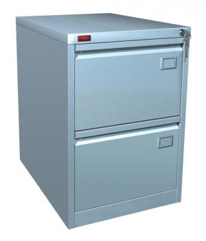 Шкаф металлический картотечный КР - 2 купить на выгодных условиях в Волгограде