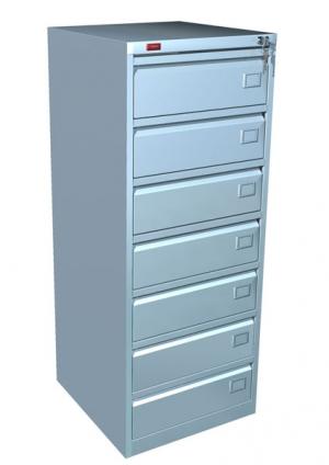 Шкаф металлический картотечный КР - 7 купить на выгодных условиях в Волгограде