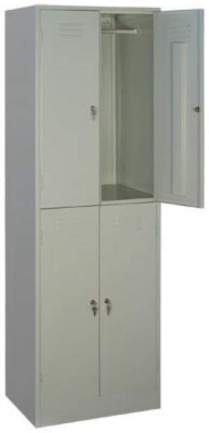 Шкаф металлический для одежды ШРМ - 24 купить на выгодных условиях в Волгограде