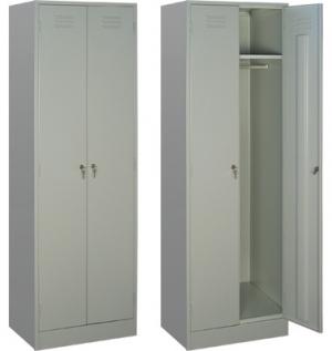 Шкаф металлический для одежды ШРМ - 22 купить на выгодных условиях в Волгограде