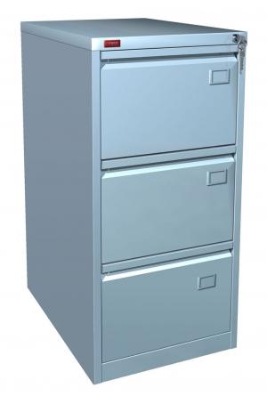 Шкаф металлический картотечный КР - 3 купить на выгодных условиях в Волгограде