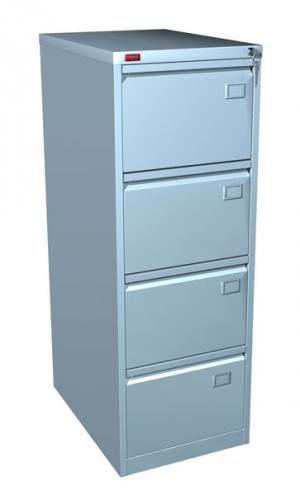 Шкаф металлический картотечный КР - 4 купить на выгодных условиях в Волгограде