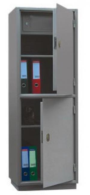 Шкаф металлический для хранения документов КБ - 032т / КБС - 032т купить на выгодных условиях в Волгограде