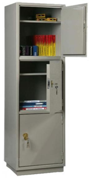 Шкаф металлический для хранения документов КБ - 033 / КБС - 033 купить на выгодных условиях в Волгограде