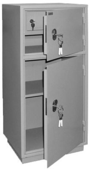 Шкаф металлический для хранения документов КБ - 042т / КБС - 042т купить на выгодных условиях в Волгограде