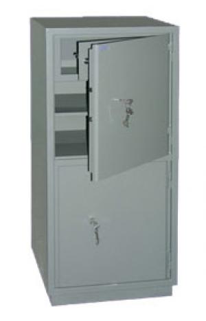 Шкаф металлический бухгалтерский КС-2Т купить на выгодных условиях в Волгограде