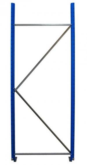 Рама для складского металлического стеллажа 2000x1000 купить на выгодных условиях в Волгограде