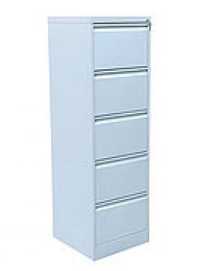 Шкаф металлический картотечный ШК-5 (5 замков) купить на выгодных условиях в Волгограде