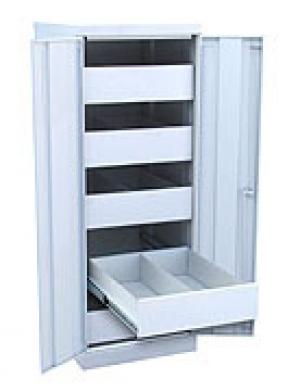 Шкаф металлический картотечный ШК-5-Д2 купить на выгодных условиях в Волгограде