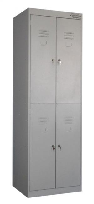 Шкаф металлический для одежды ШРK-24-600 купить на выгодных условиях в Волгограде