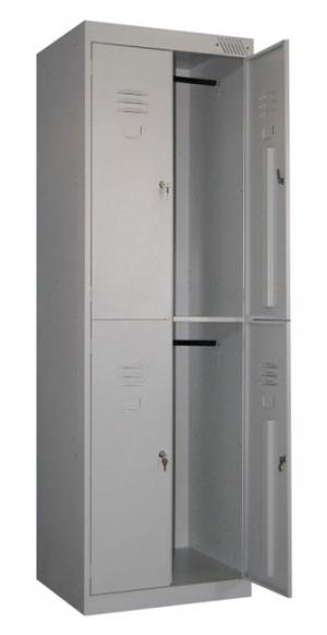 Шкаф металлический для одежды ШРK-24-800 купить на выгодных условиях в Волгограде