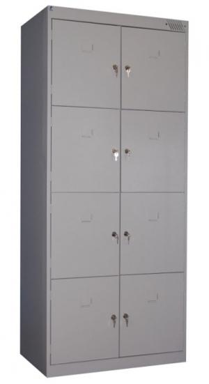 Шкаф металлический для сумок ШРК-28-600 купить на выгодных условиях в Волгограде