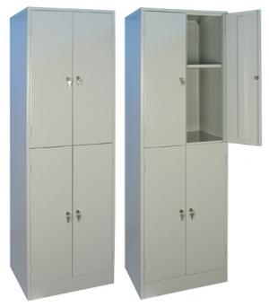 Шкаф металлический для хранения документов ШРМ - 24.0 купить на выгодных условиях в Волгограде
