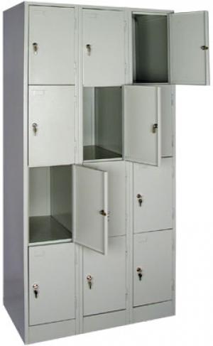 Шкаф металлический для сумок ШРМ - 312 купить на выгодных условиях в Волгограде