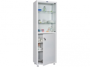 Металлический шкаф медицинский HILFE MD 1 1760/SG