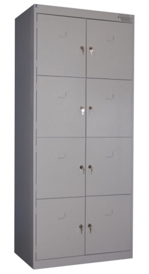 Шкаф металлический для сумок ШРК-28-800 купить на выгодных условиях в Волгограде
